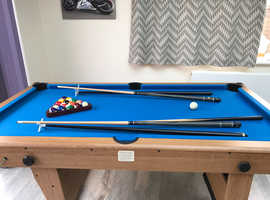 Games Table - Pool, Table Tennis and Darts