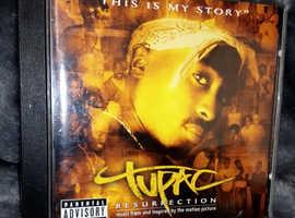Tupac Resurrection CD 2pac