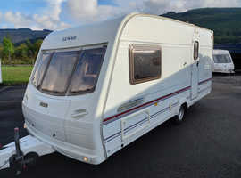Lunar clubman 2 berth touring caravan with motor mover and everthing else to start touring