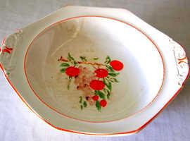 Fruit bowl circa 1920 peach design