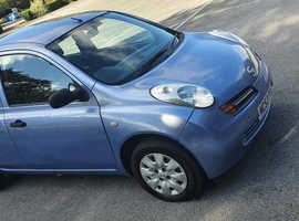 Nissan Micra, 2004 (53) Blue Hatchback, Manual Petrol, 53,000 miles