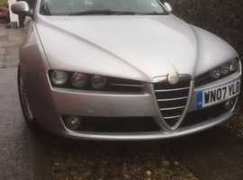 Alfa Romeo 159, 2007 (07) Silver Saloon, Manual Diesel, 85,875 miles