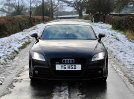 Audi TT, 2012 (62) Black Coupe, Automatic Diesel, 52,000 miles