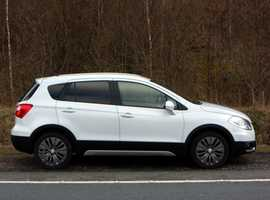 Suzuki SX4 S-CROSS, 2014 (14) White Hatchback, Manual Petrol, 64,000 miles, 01443 831670