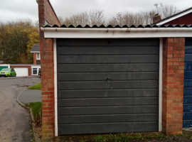 Lock-up garage, for sale, Taunton.