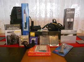 Nikon D3100 Camera 18-55 VR Kit Plus Extras PRICE DROPPED!