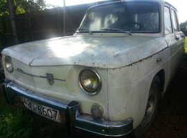 RENAULT 8 GORDINI, LHD BRITISH REG RESTORATION PROJECT