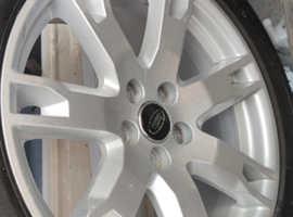 Range rover alloy wheels 18inch