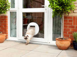 Cat Flaps and Pet Doors installed in uPVC, Double Glazing and Patio Doors