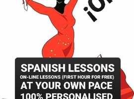 Hola! Do you want to learn Spanish? Personalised lessons for all levels and all ages.