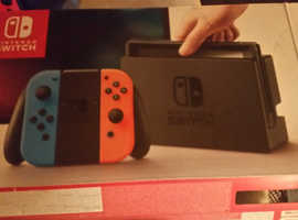Nintendo switch bnib 3 games