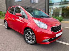 Kia Venga, 4 2017 (17) Infra Red Hatchback, 1.6 Automatic Petrol, 9,900 miles