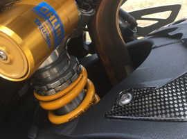 Triumph Daytona 675R 2011.