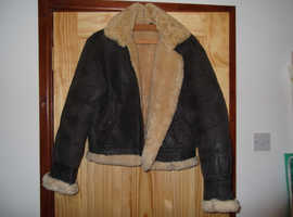 WW2 RAF Type B3 Bomber Sheepskin Jacket Small/Medium Size 38 M