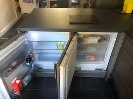 Integrated kenwood fridge and essentials freezer