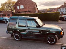 Land Rover DISCOVERY TDI, 1993 (K) Green Estate, Manual Diesel, 120,000 miles
