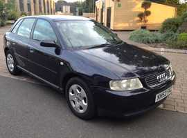 AUDI A3 1.6 ONE OWNER SINCE 2008 MOT 9 MONTHS FULL SERVICE HISTORY LOW MILEAGE VERY RELIABLE CAR
