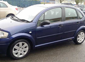Citroen C3, 2005 (05) Blue Hatchback, Manual Petrol, 73,674 miles