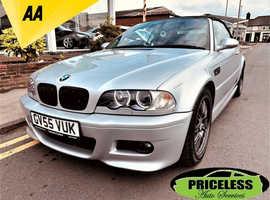 BMW 3 Series, 2005 (55) Silver Convertible, Manual Petrol, 45,913 miles