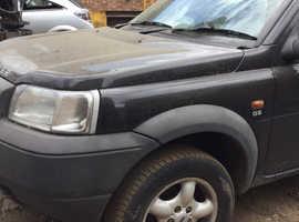 Land Rover Freelander, 2001 (51) Black Estate, Manual Petrol, 144,444 miles