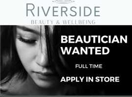 Full Time Beauty Therapist needed to join modern Clinic