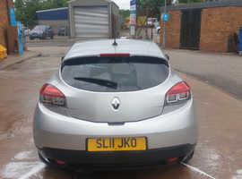Renault Megane, 2011 (11) Silver Coupe, Manual Petrol, 70,711 miles