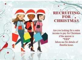 Recruiting for people  to join Avon and start selling it