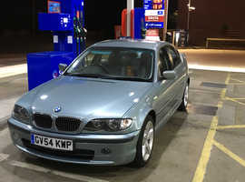 BMW 3 Series, 2004 (54) Green Saloon, Automatic Petrol, 120,000 miles