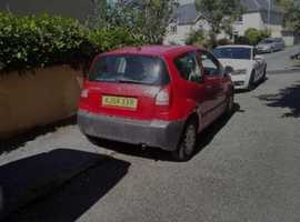 Citroen C2, 2004 (54) Red Hatchback, Manual Petrol, 80,000 miles