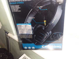 UNUSED GRUNDIG HEADPHONES