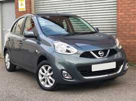 2016 Nissan 1.2 Acenta, 5 Door, Genuine 21,600 Miles Only, Full Service History, Up To 65MPG !!!