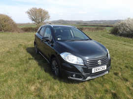 Suzuki SX4 S-CROSS, 2014 (14) Black Hatchback, Manual Petrol, 40,118 miles