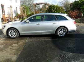 Audi A6, 2012 (62) Silver Estate, Cvt (auto) Diesel, 79,000 miles