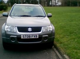 Suzuki Grand Vitara, 2008 (08) Grey Estate, Manual Petrol, 110,000 miles