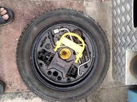 Renault cleo spair wheel