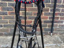 Quality pony size double bridle