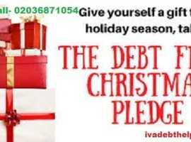 How to make a Debt Free Christmas Call @ 02036871054