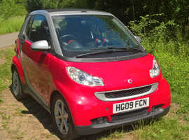 2009 Smart Fortwo Pulse Cabriolet