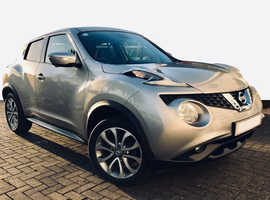 2016 Nissan JUKE Tekna, 1.2 DiG-T, Manual Petrol, 24,000 miles, Silver 5dr Hatchback, Immaculate condition