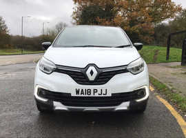 Renault Captur, 2018 (18) White Other, Automatic Petrol, 14700 miles