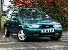 Ford Fiesta, 1999 (V) 1.25 ZETEC Green 3 Door Hatchback, Manual Petrol, 111,522 miles, NEW MOT