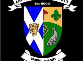 Letterkenny & District Pipe Band are now looking a new Lead Drummer