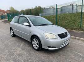 Toyota Corolla, 2003 (53), Manual Diesel, 178,000 miles