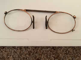 Vintage nose reading glasses