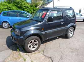 Suzuki Jimny, 2005 (05) Black Estate, Manual Petrol, 53,000 miles