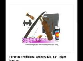Brand new Archery set