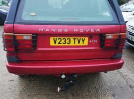 Land Rover RANGEROVER 4.0, 1999 (V) Red Estate, Manual , 128,000 miles