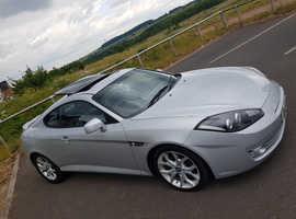 Hyundai Coupe, 2009 (09) Private Reg, Manual Petrol, 104,000 miles