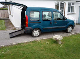 Lovely Renault Kangoo with wheelchair access facility