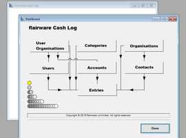 Computer Software - Flairware Cash Log